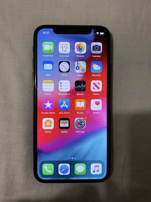 IPhone X Unlocked 64gb for Sale in Lake View Terrace, CA