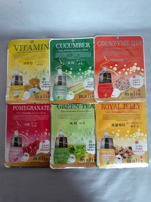 Face Mask Assortement of 6 Ultra Hydrating Essences- 3 Pc Pack for Sale in Chula Vista, CA