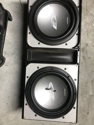Alpine 12 inch subs for Sale in Sanger, CA
