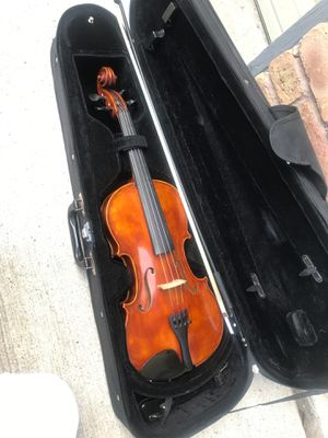 Violín brand Johannes Kohr size 4/4 ( full size ) great for students for Sale in Houston, TX