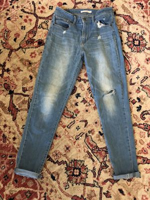 Levi's 721 high rise skinny jeans size 29 for Sale in Round Rock, TX