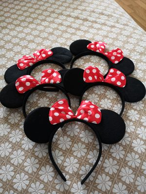 New_5-pack minnie mouse headband for Sale in Thonotosassa, FL