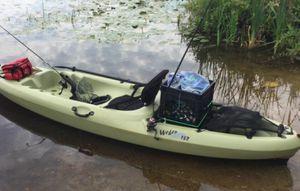 New!! Boat, kayak, fishing kayak, 11 ft. Fishing kayak, light olive for Sale in Phoenix, AZ