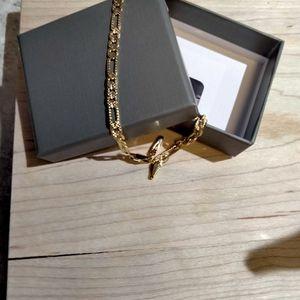 14 K Yellow Gold 10inch Diamond Cut Figueroa: Bracket for Sale in Winter Haven, FL