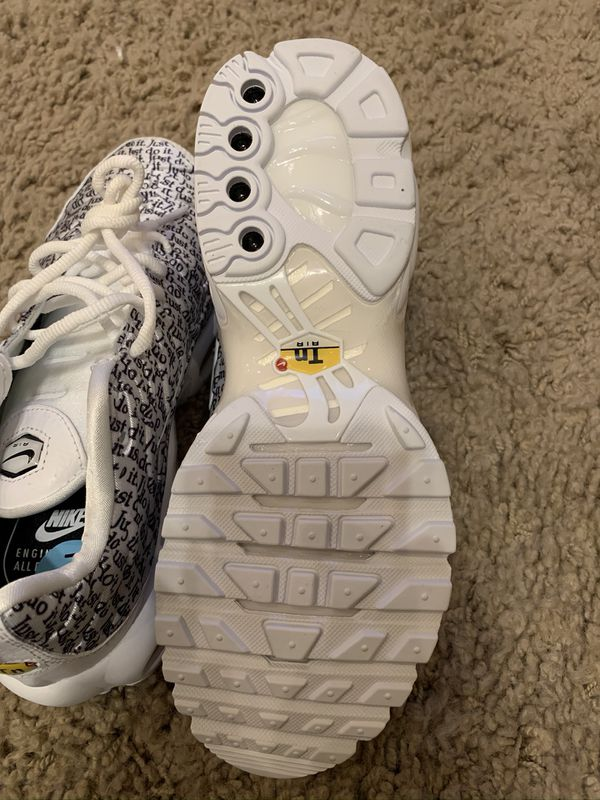 Nike Air Max Plus SE JDI Just Do It Pack 862201-103 New Women's Size 6
