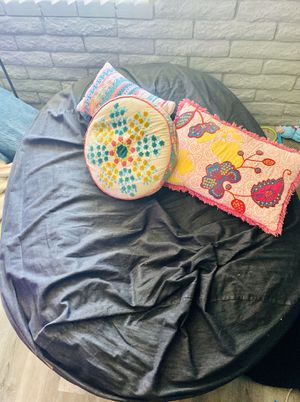 Jaxx 6ft memory foam bean bag sofa /bed/ chair/ couch for Sale in Tempe, AZ