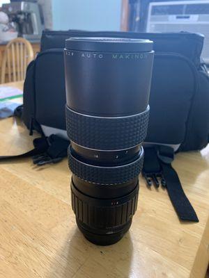 Makinon Canon FD Mount Macro Zoom 80-200 mm Camera Lens for Sale in Addison, IL