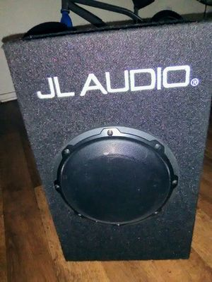 "JL Audio 8"" inch sub subwoofer built-in amplifier car amp for Sale in San Bernardino, CA"