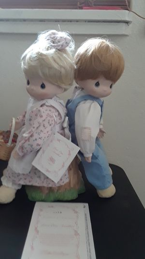 "Precious Moments Hamilton ""Love one Another "" dolls for Sale in Tampa, FL"