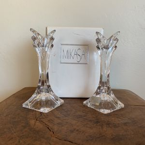 Mikasa Deco Candle Holders for Sale in San Diego, CA