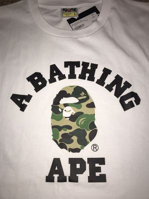 A Bathing Ape College Tee for Sale in Orlando, FL