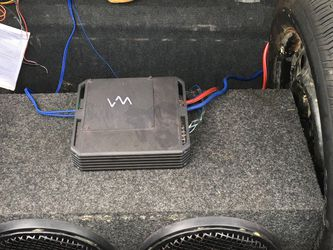 XM Amp 2 Kenwood 12s for Sale in Farmville,  VA