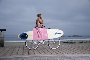 Surfboard Carrier | Longboard Carrier | Beach Towel | Bag all in one for Sale in Newport Beach, CA