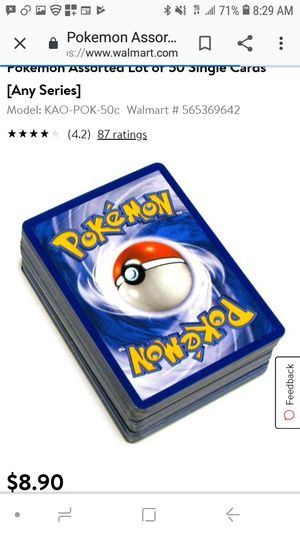 Pokemon Cards assorted for Sale in Costa Mesa, CA