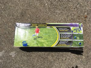 Kicky wickets outdoor kid and family game for Sale in Alpharetta, GA