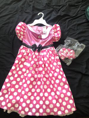 Minnie Mouse dress/costume with ears for Sale in San Jose, CA