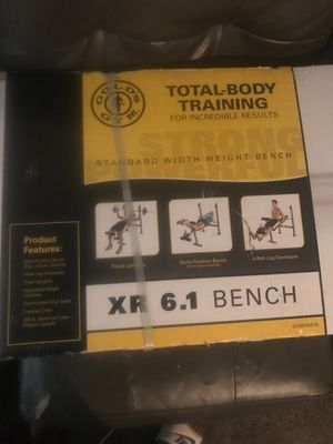 Gold's Gym weight bench for Sale in Union City, GA