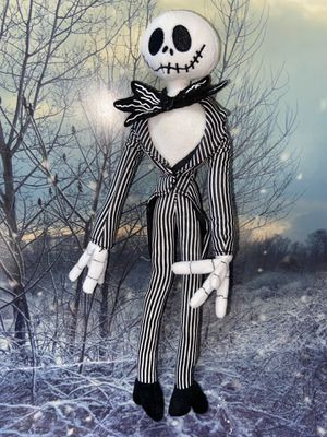 "Disney Nightmare before Christmas Jack Skellington 20"" Plush for Sale in Bellflower, CA"