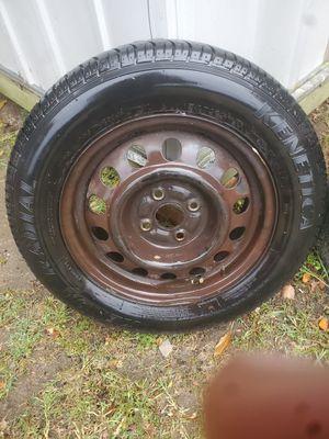 Honda or Hundai Tire & rim 185/65/R14 ....4x100 for Sale in Stockton, CA