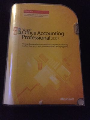 Office Accounting Professional 2007 Upgrade for Sale in Fresno, CA