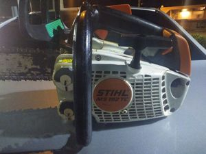 Sthil 192 tc lightweight tree climbing saw for Sale in Miami, FL