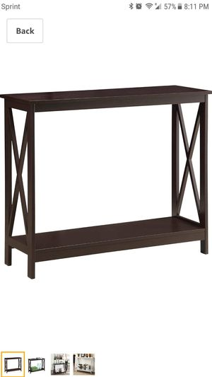 Oxford Console Table - New for Sale in Mesa, AZ