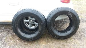 2 BF Goodrich rugged trails Lt245-75 for Sale in Ocean Springs, MS