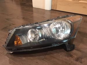 2008- 2012 Honda Accord Driver OEM Original Genuine Headlight Headlamp LH Left for Sale in Needham, MA