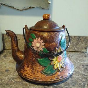 Rustic Vintage Ceramic Teapot for Sale in Norfolk, VA