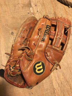 Vintage Wilson signature model baseball glove roger Clemens mc1275 for Sale in New Lenox, IL
