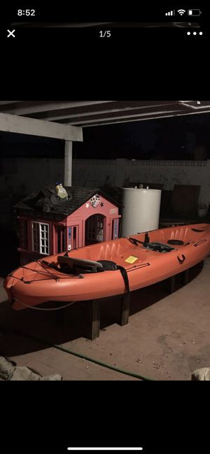 2 person Kayak Double 12 foot with paddles for Sale in Phoenix, AZ