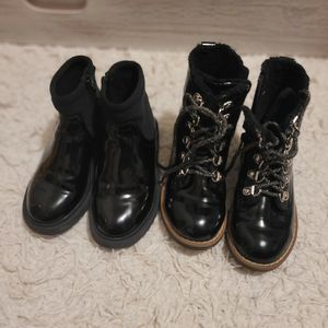 Toddler Girl Boots Size: 9.5 Brands: Zara, H&M for Sale in San Jose, CA