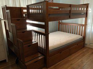 Full over full bunk bed for Sale in Miami, FL