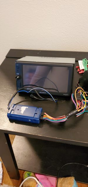 Sony xav-ax1000 and pac rp4-vw11 wiring interface for Sale in San Clemente, CA