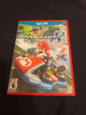 Mario Kart Wii U Nintendo for Sale in Mesa, AZ