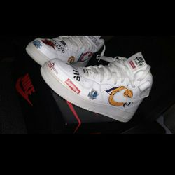 Supreme Nba Air Force Ones for Sale in Fresno,  CA
