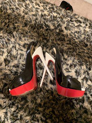 Christian Louboutin Red Bottom Heels Size 5.5 for Sale in Atlanta, GA