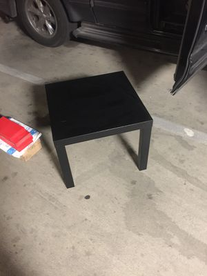 """IKEA lack end table 24"""" square for Sale in Austin, TX"""