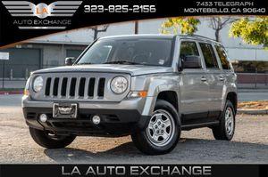 2016 Jeep Patriot for Sale in Montebello, CA