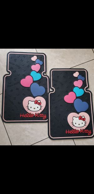 Hello Kitty Heart with Bow. Car Floor Mat. Set $20firm for Sale in Phoenix, AZ