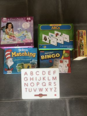 Pre-school leaning games and puzzles for Sale in Scottsdale, AZ