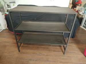 Pair of Commercial/Retail/Home Steel No-Bolt Shelves for Sale in Fort Worth, TX