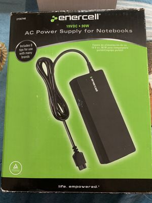 Enercell AC Power Supply for Notebooks with 8 interchangeable tips for Sale in Brookfield, IL
