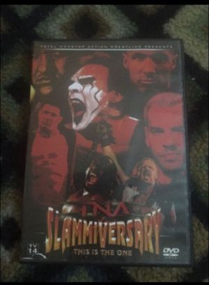 2006 TNA Slammiversary - This Is The One dvd for Sale in Hazleton, PA