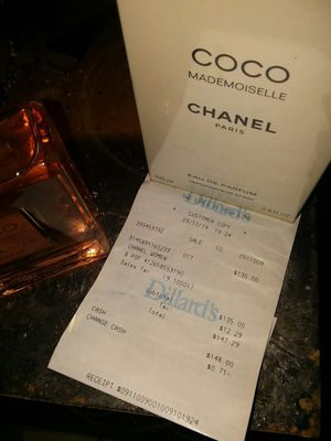 Brand new never used at all Chanel Coco mademoiselle perfume 3.4oz but for Sale in Prescott, AZ