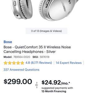 Bose Bluetooth Headphones for Sale in Indio, CA