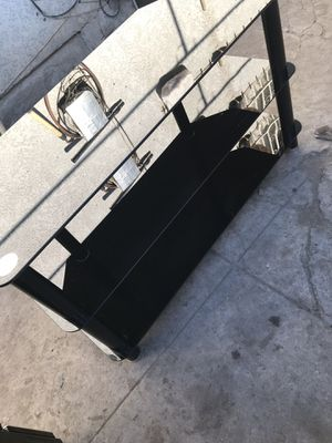 Glass TV Stand for Sale in Los Angeles, CA