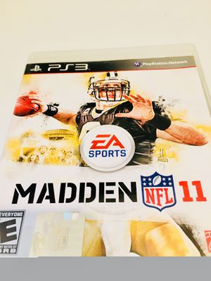 Madden 11 (ps3) for Sale in Raleigh, NC