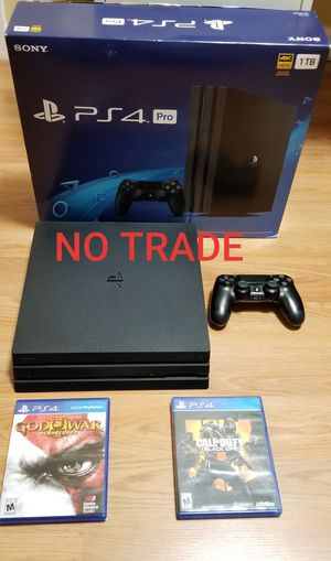 PS4 PRO BUNDLE, FIRM PRICE, MINT CONDITION, READ DESCRIPTION FOR OPTIONS, NO TRADE for Sale in Santa Ana, CA