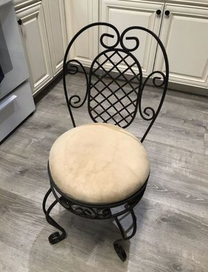 Wrought Iron Vanity Stool for Sale in San Diego, CA